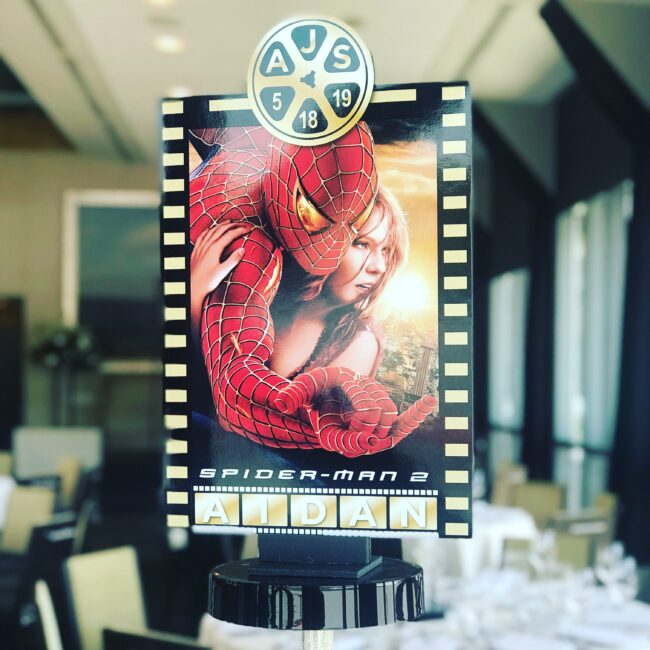 Movie-themed Centerpiece