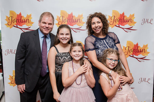 Fall Themed Bat Mitzvah Party