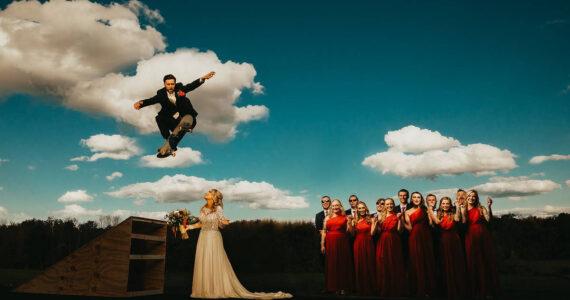Tarah & Jordan's Fabulously Fun Fall Farm Wedding