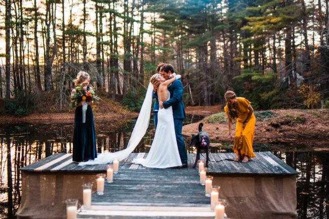 New England Late Fall Wedding