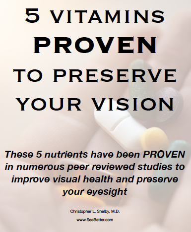 certain supplements have been clinically proven to slow vision loss.