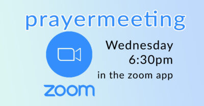 FB - Zoom Prayer Meeting
