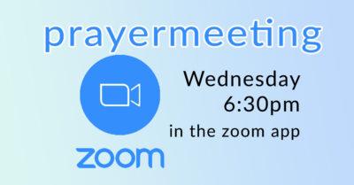 FB - Zoom Prayer Meeting