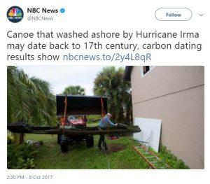 NBC News Dugout Canoe