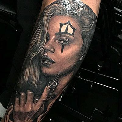 Portrait - Tattoo Services