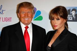 NEW YORK-MAY 20: Donald Trump and wife Melania
