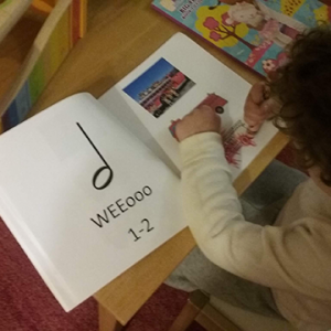 Music classes and books