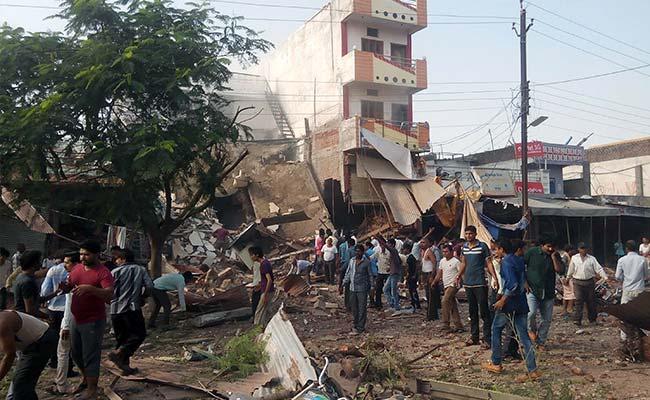 Jhabua Blasts Scene