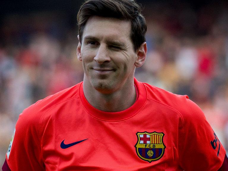 Lionel Messi Blonde