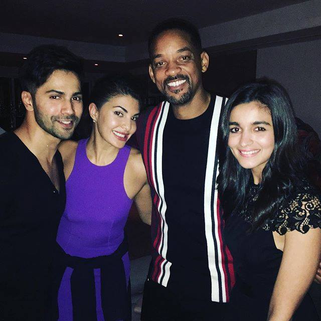 Will Smith with Bollywood stars