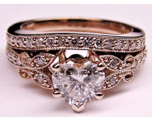 Rose Gold Engagement Ring