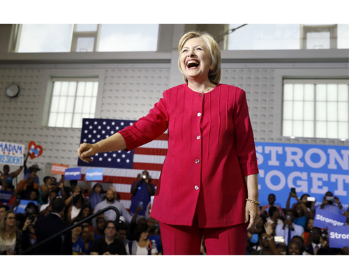 Hillary Clinton power dressing