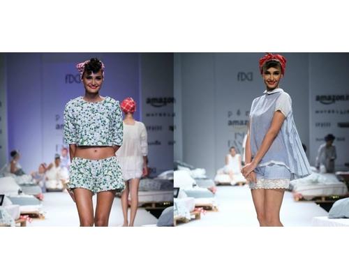 Amazon India Fashion Week 2016 Aneeth Arora collection