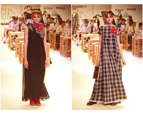 Aneeth Arora Collection Amazon Fashion Week 2016