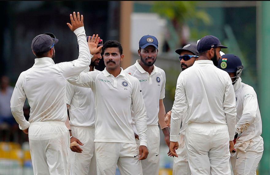 India Team celebrates - INDvSL