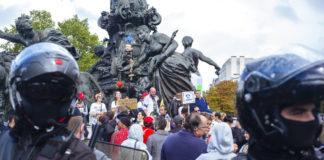 Anti COVID19 Restriction protest