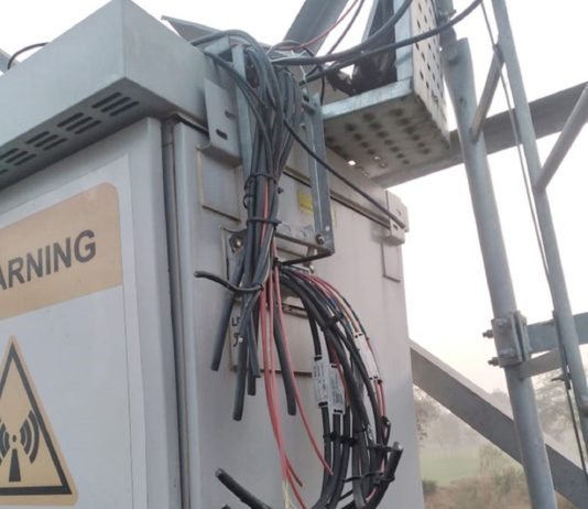 farmers vandalizing telecom towers