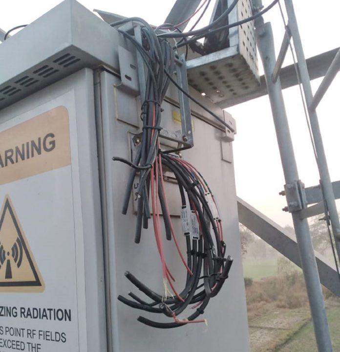 farmers vandalizing telecom towers