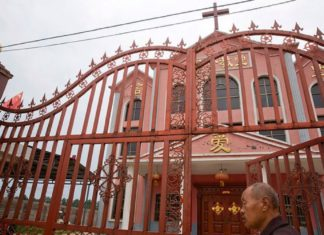 Christians detained in China