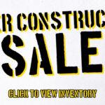 under construction sale