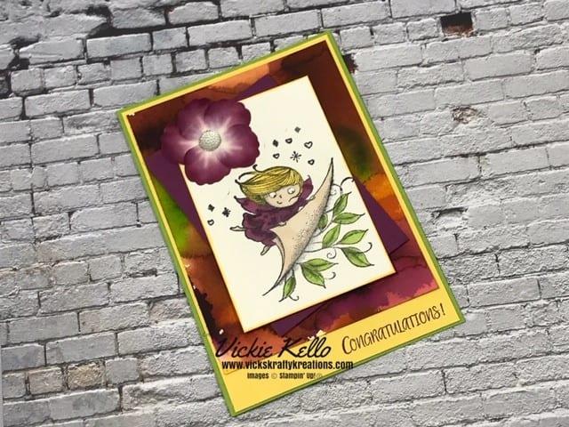 Card made using New Wonders