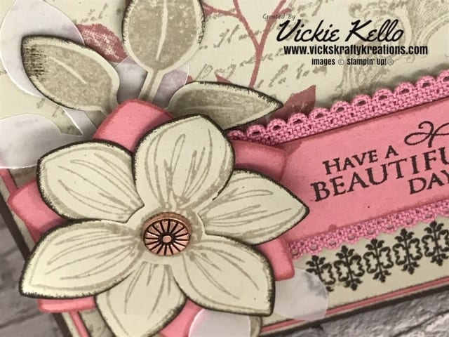 Close up of Casual Crafter Card