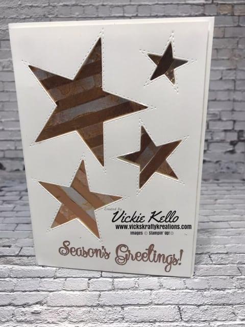 So Many Stars and Washi Tape Card 2