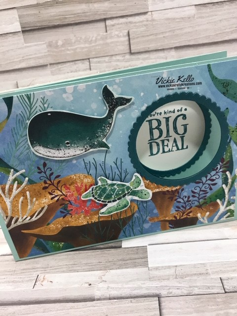 Stamp 'N Hop Blog Hop – August – Whale of a Time Suite is my Favourite Bundle