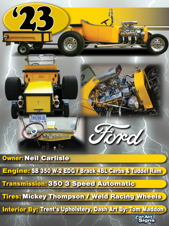 Ford '23 Show Board