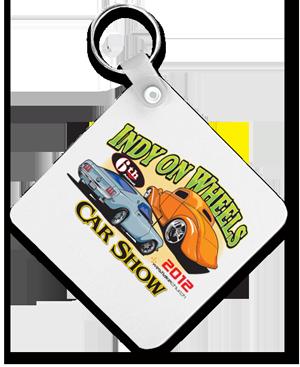 Car Show Key Chain