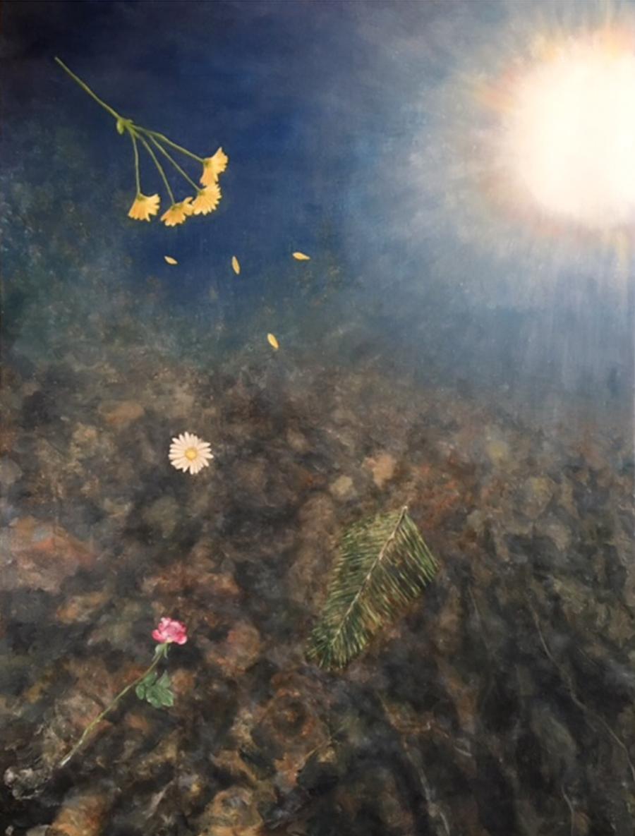 Lil Olive Art -Beyond the Deep