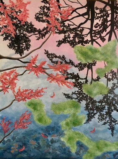 Lil Olive Art Cypress Dream