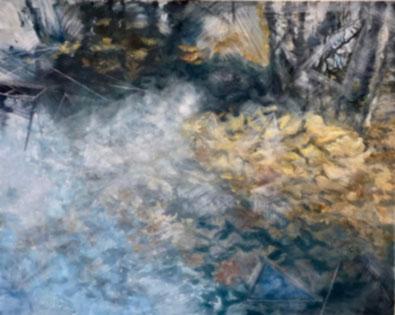 Autumn Under Ice - Lil Olive Art