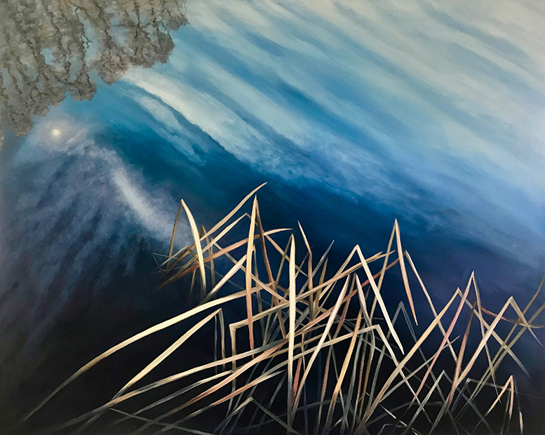 Bulrushes by Lil Olive