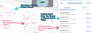 Ticketmaster Resell Tickets