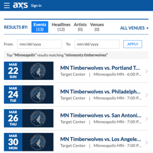 cheap minnesota timberwolves tickets