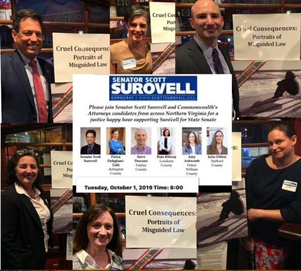 Va Senator Scott Surovell Campaign Event