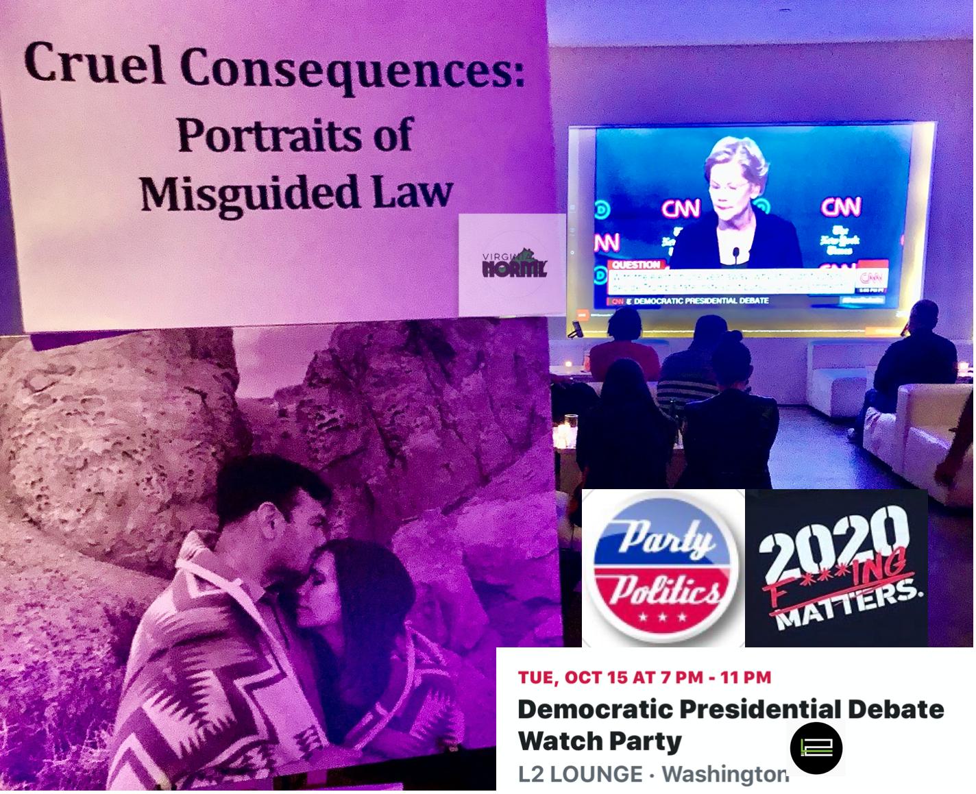 Party Politics Debate Watch Party in D.C.