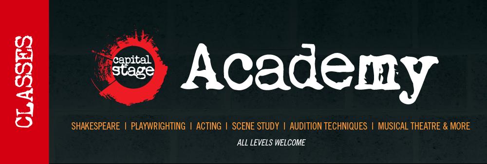 CapStage Academy Website Banner