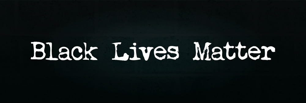 Black Lives Matter Website Banner