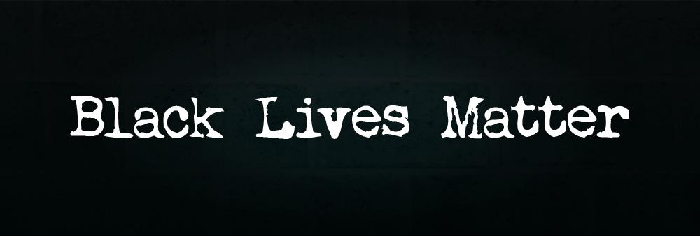 Black Lives Matter Website Banner