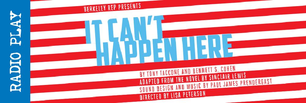 It Can't Happen Here website banner