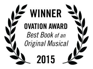 award-laurels-best-original-book-musical-ovation-winner on white