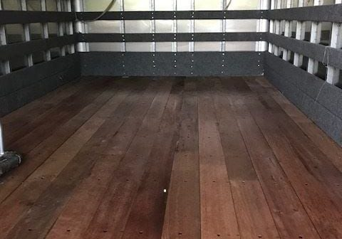 Repaired Truck Bed