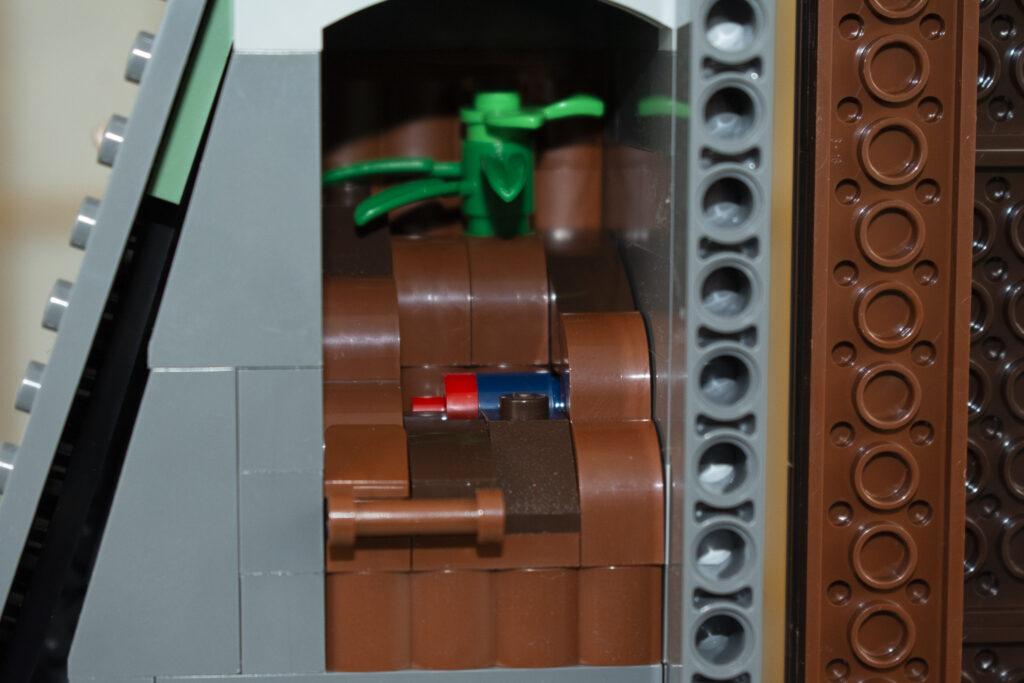 LEGO Jurassic Park Barbasol Can