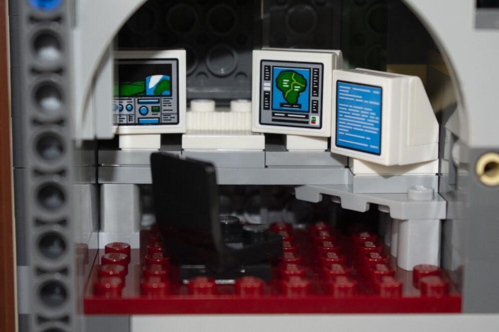 Isla Nublar Control Room