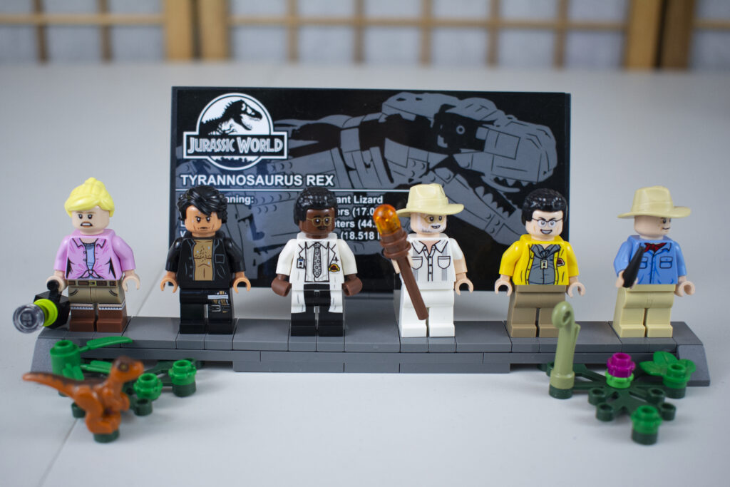 LEGO Jurassic Park Minifigures
