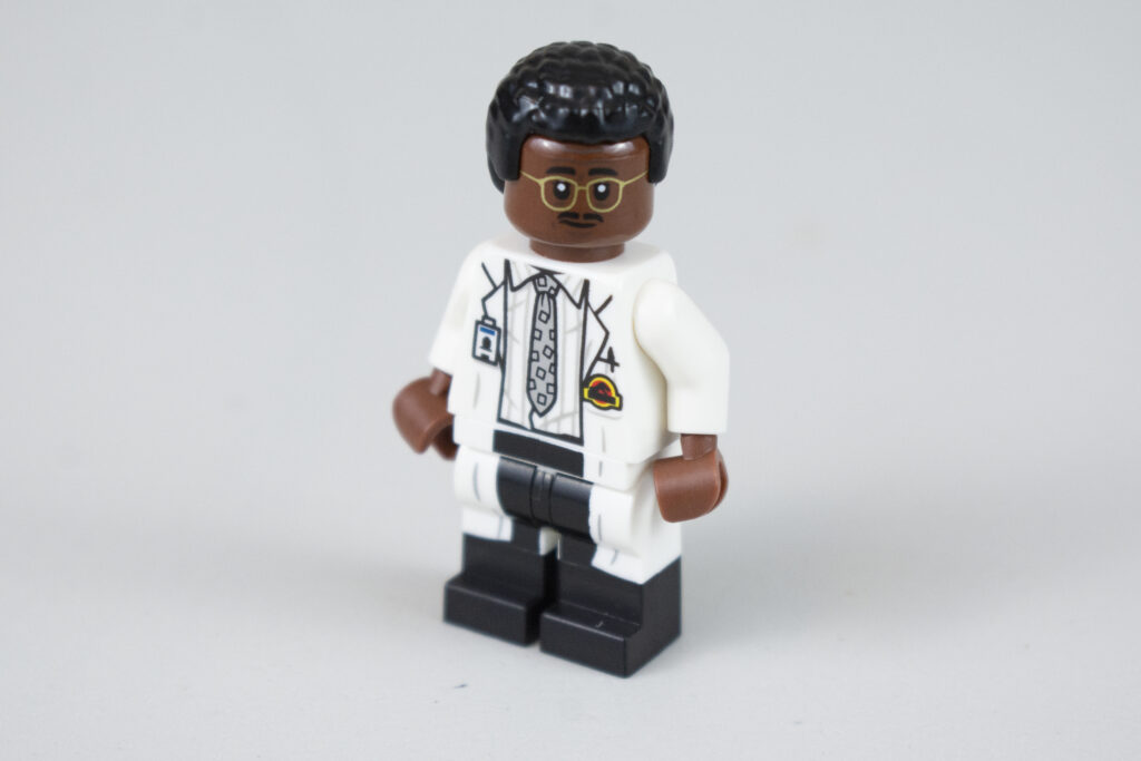 LEGO Jurassic Park Ray Arnold Front