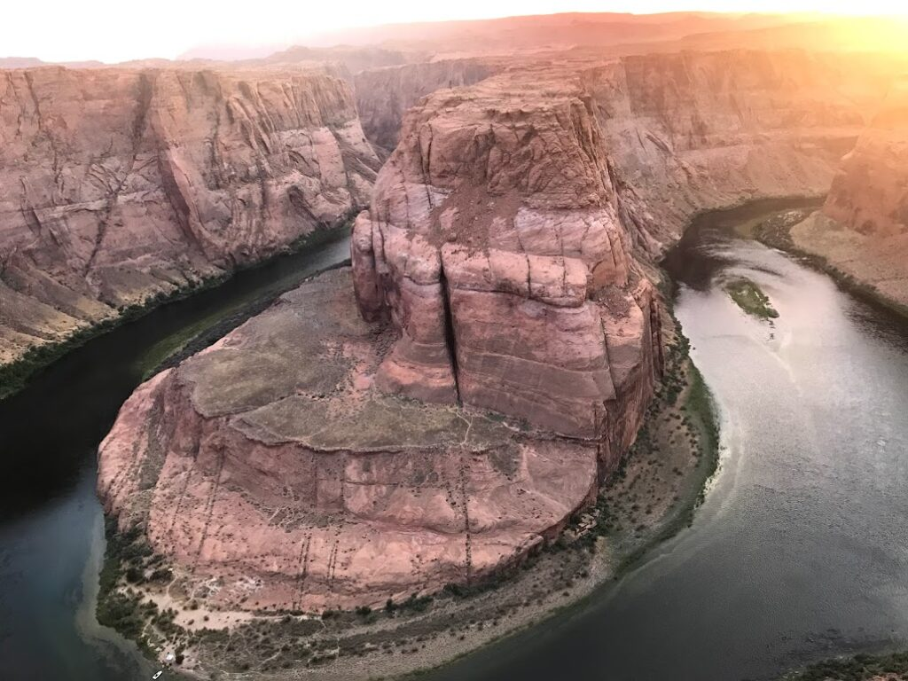 The beautiful Horseshoe Bend