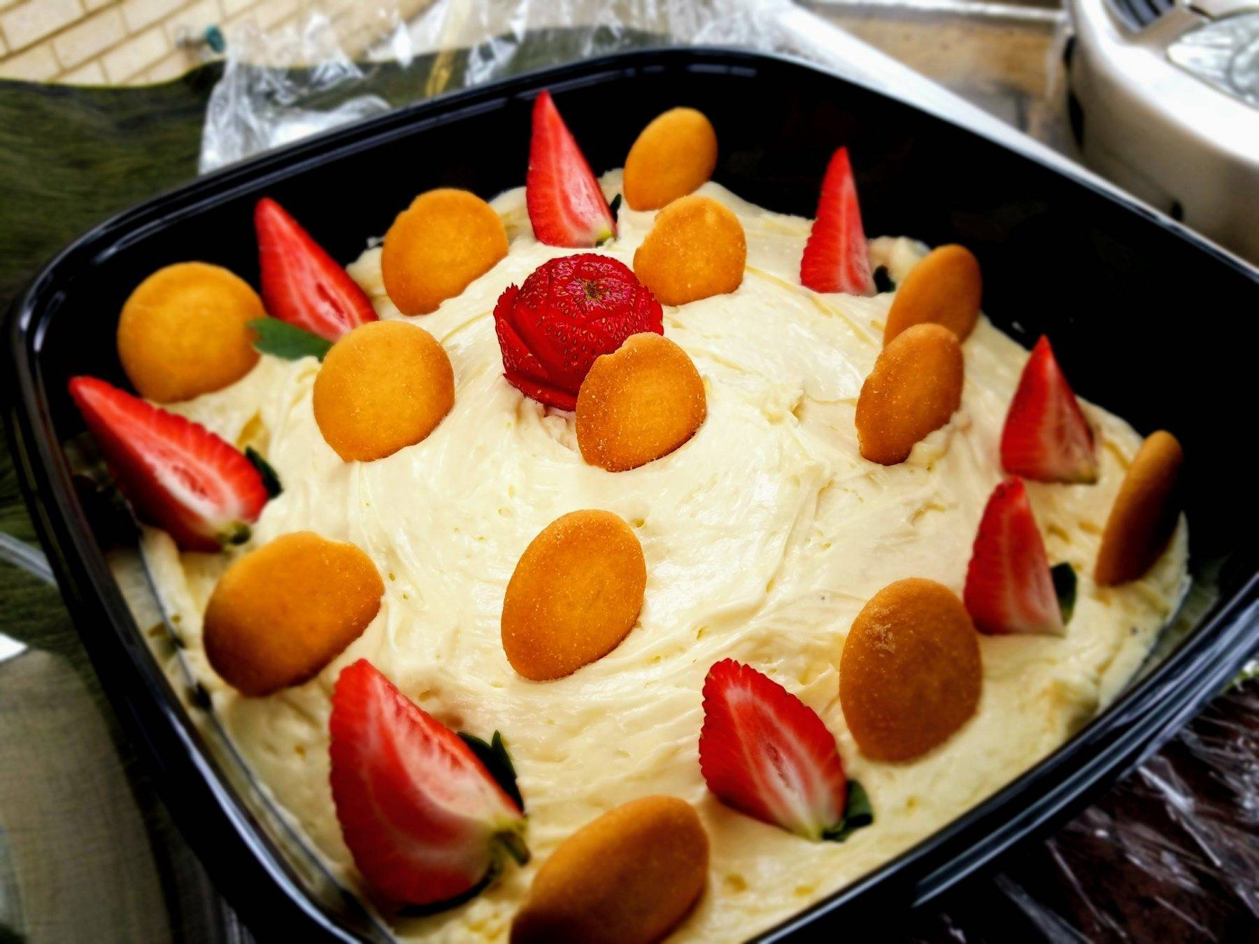 Banana Mousse Pudding